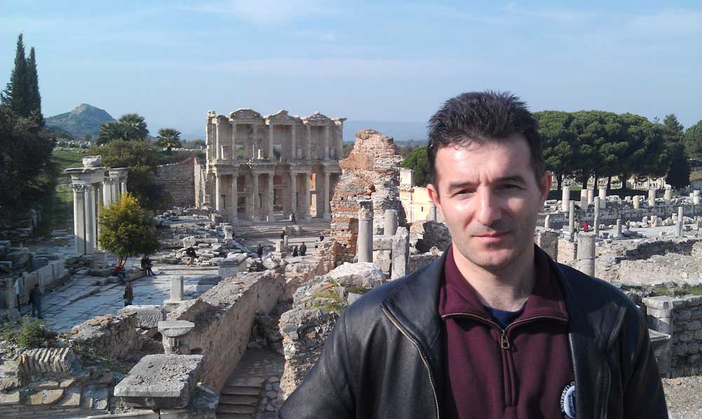 Region Computer Engineering Department Chairs Summit - The Library of Celsus in Ephesus